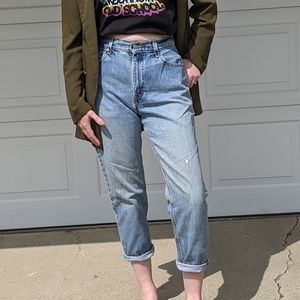 Vintage Levi's 550 Relaxed Fit High Rise Jeans 8S